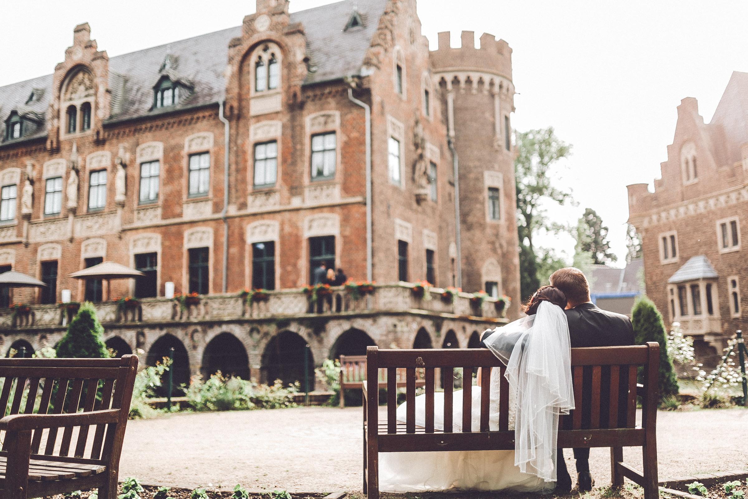 Hochzeitsfotograf auf Schloss Paffendorf