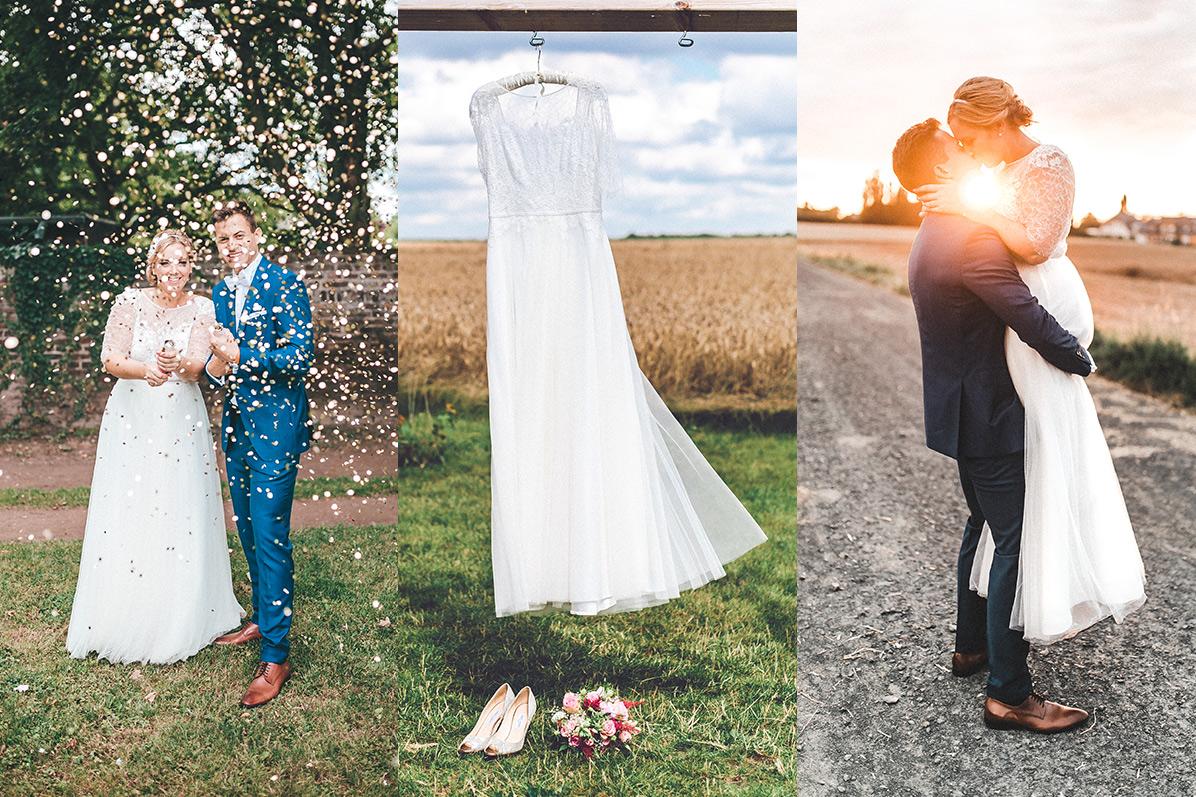 Gegenlicht Hochzeitsfotos in ganz Deutschland