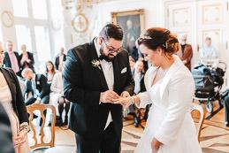 Hochzeit im Rathaus Aachen im weißen Saal