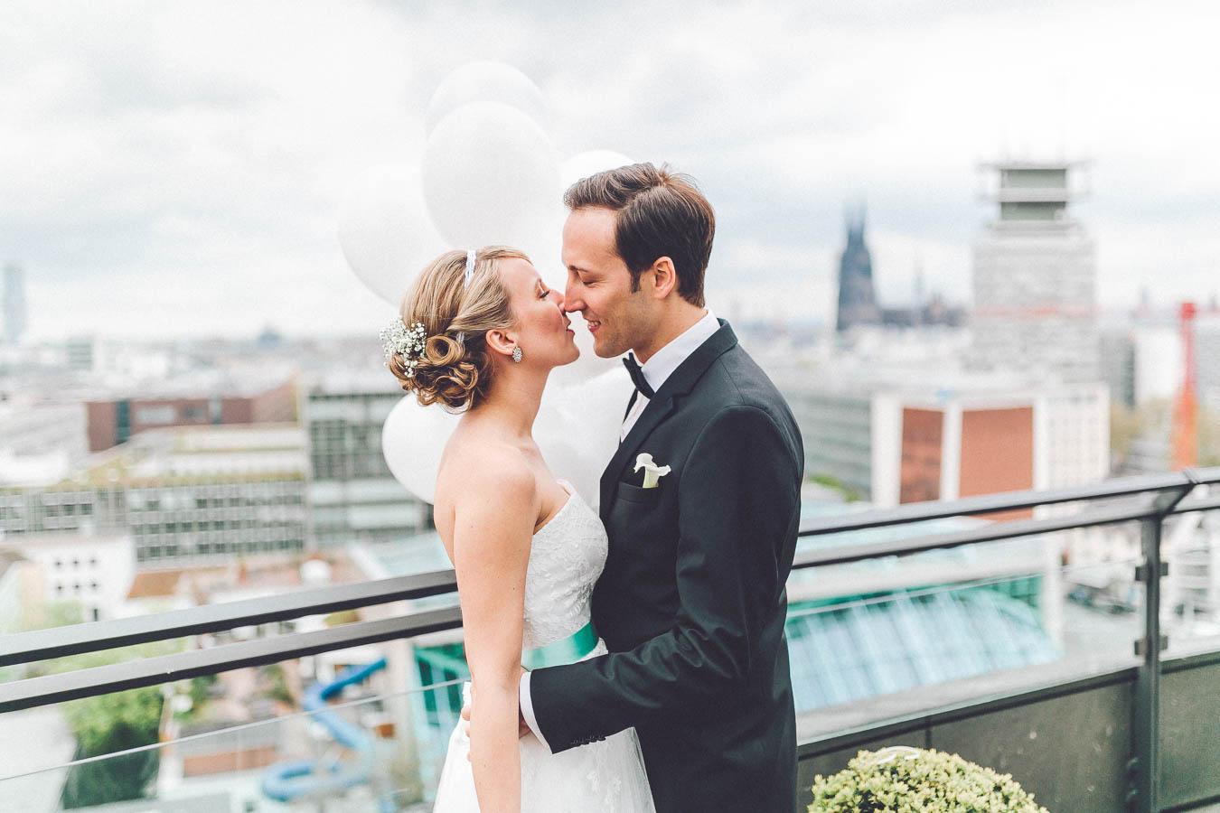 Als Hochzeitsfotograf in Köln unterwegs