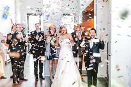 Hochzeitsfotograf Köln im Bauwerk