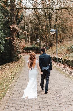 Hochzeitsfotograf Bochum - Hochzeit im Beckmanns Hof in der Ruhruniversität
