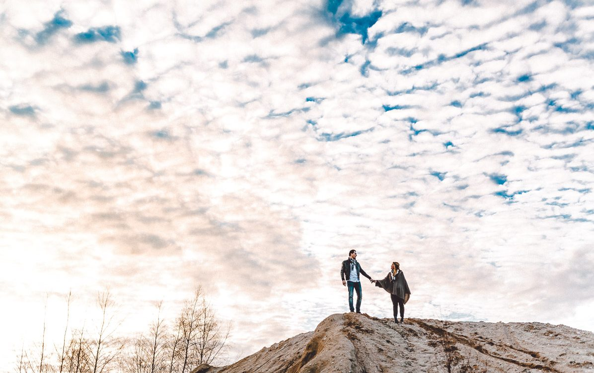 Verlobungs Fotoshooting in Köln