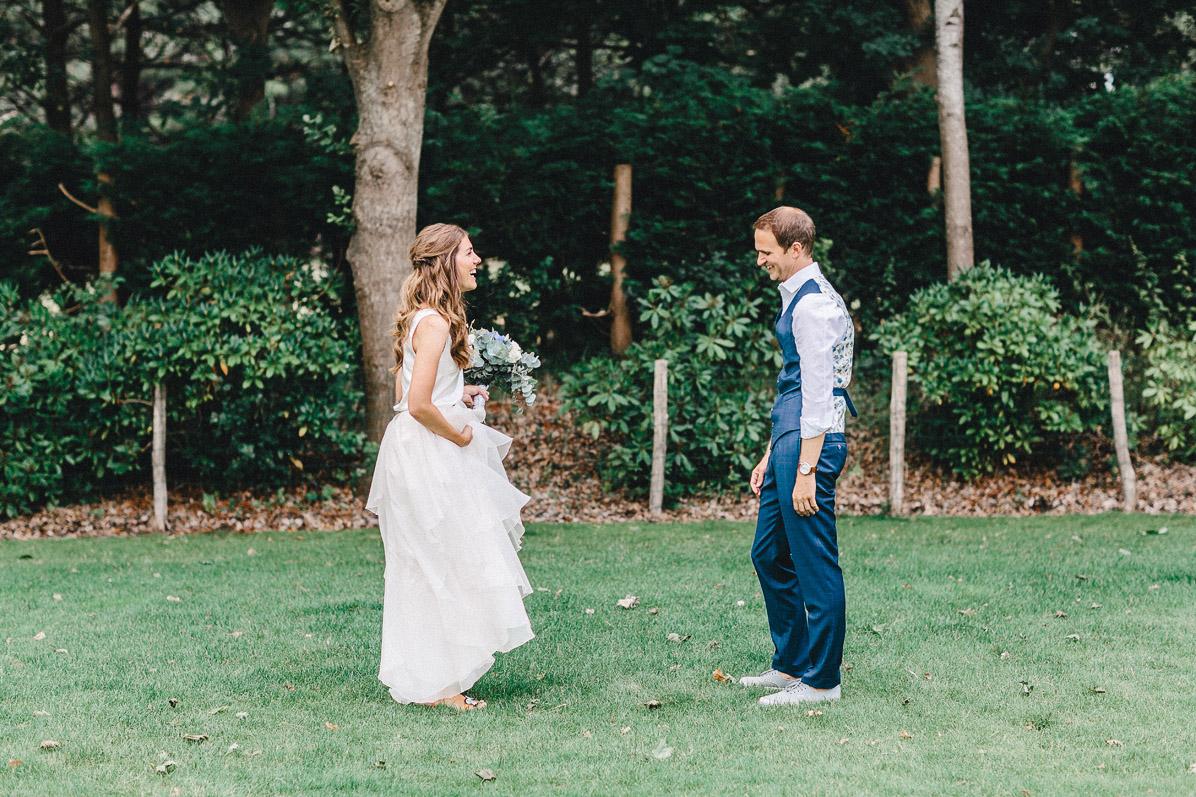 First Look des Hochzeitspaares