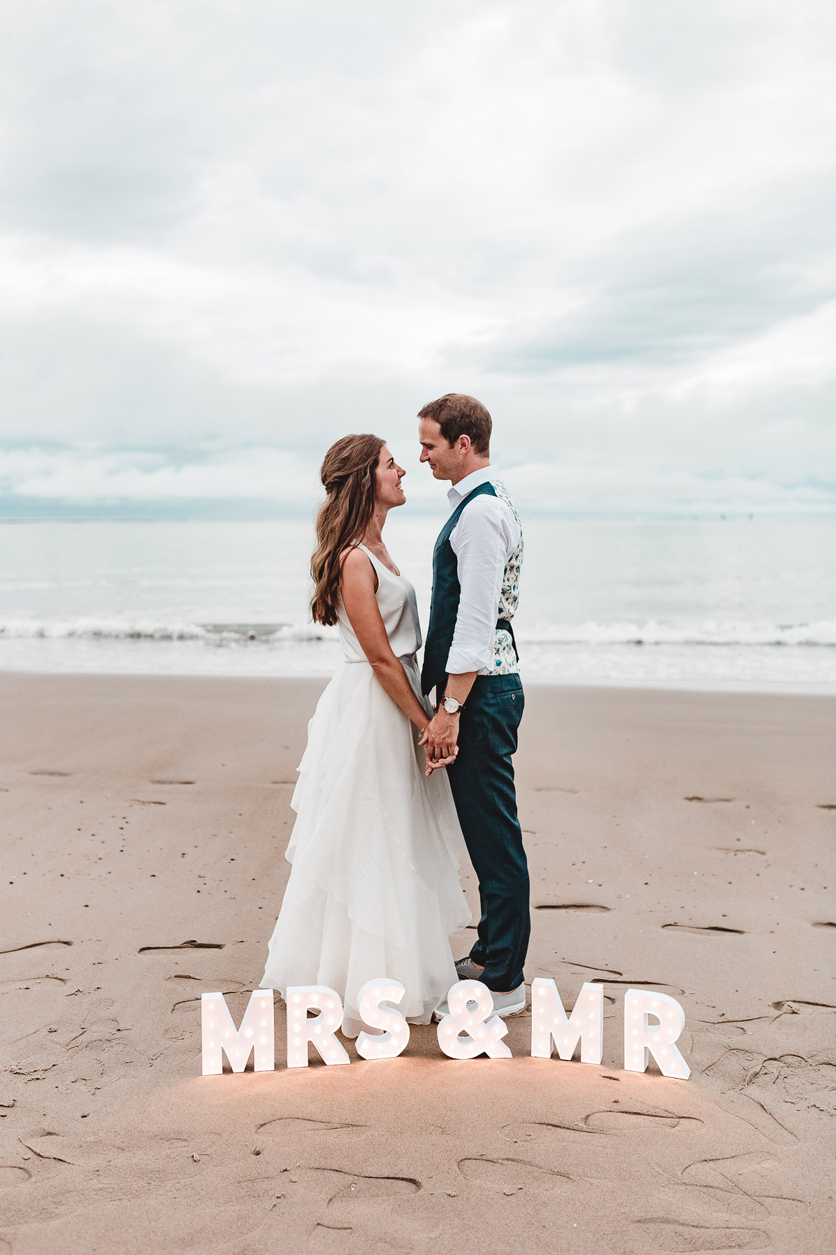 Destination Wedding Fotograf in Renesse, Holland bei einer Stradhochzeit